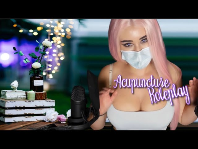 Relaxing ACUPUNCTURE ASMR Role-play 👩🏼‍⚕️😌
