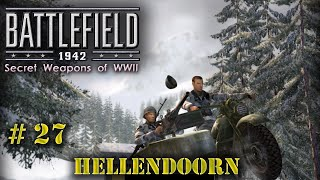 Battlefield 1942 multiplayer game #27. Hellendoorn. (Secret weapons of WWII add-on)