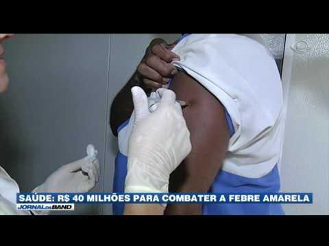 Ministério da Saúde anuncia verba para conter febre amarela
