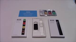 Juul Vapor E-Cig Unboxing, Set Up & First Impressions With Virginia Tobacco
