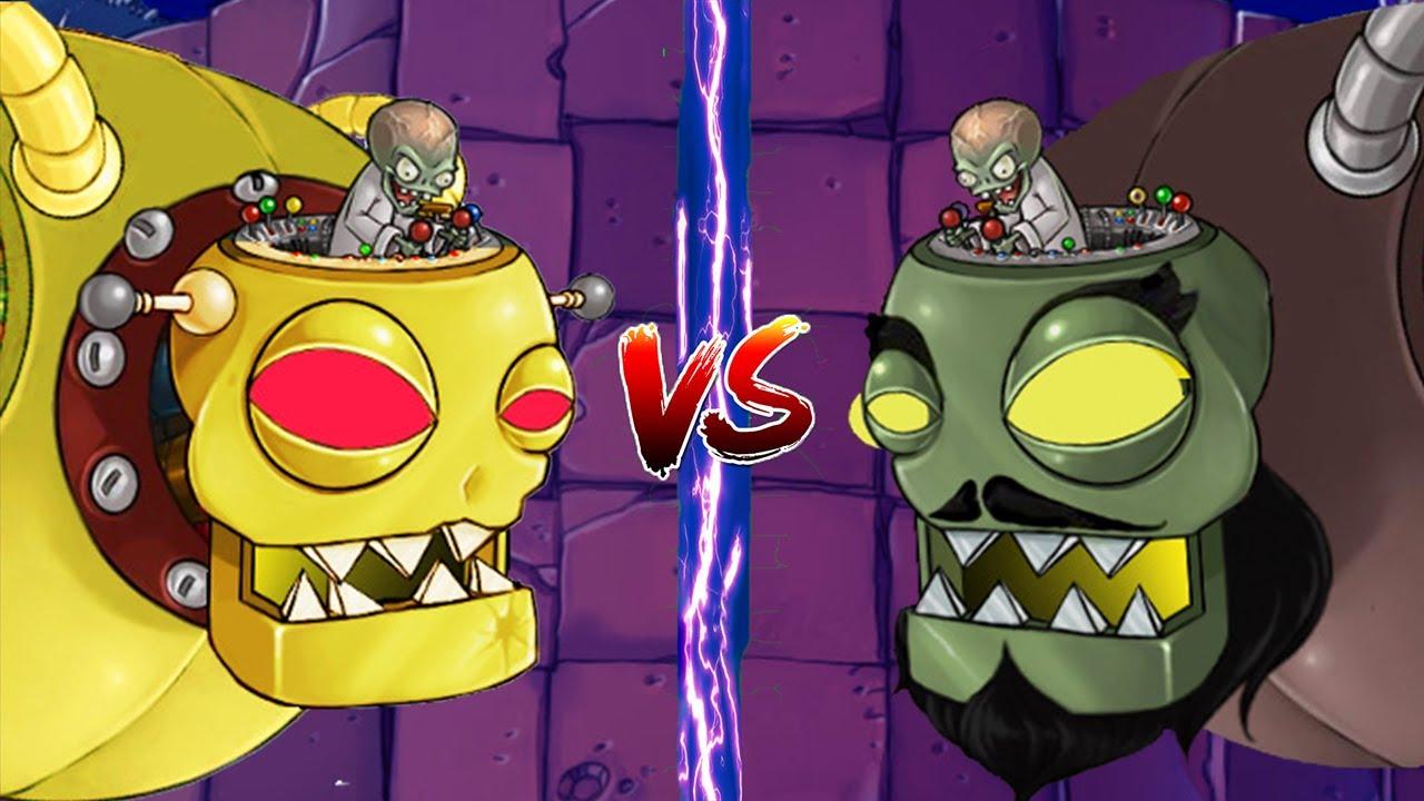 Plants vs Dr. Zomboss in Plants vs Zombies Mod - YouTube
