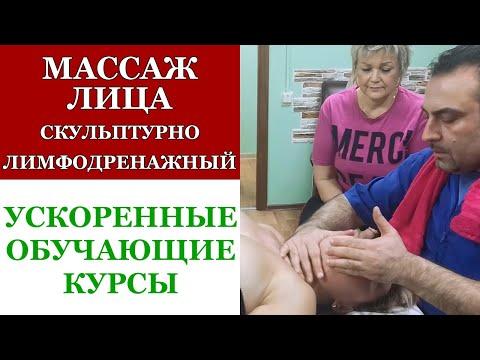 Лимфодренажный массаж лица. Обучающие курсы. Ускоренная программа. Здоров 100 лет  Центр натуропатии