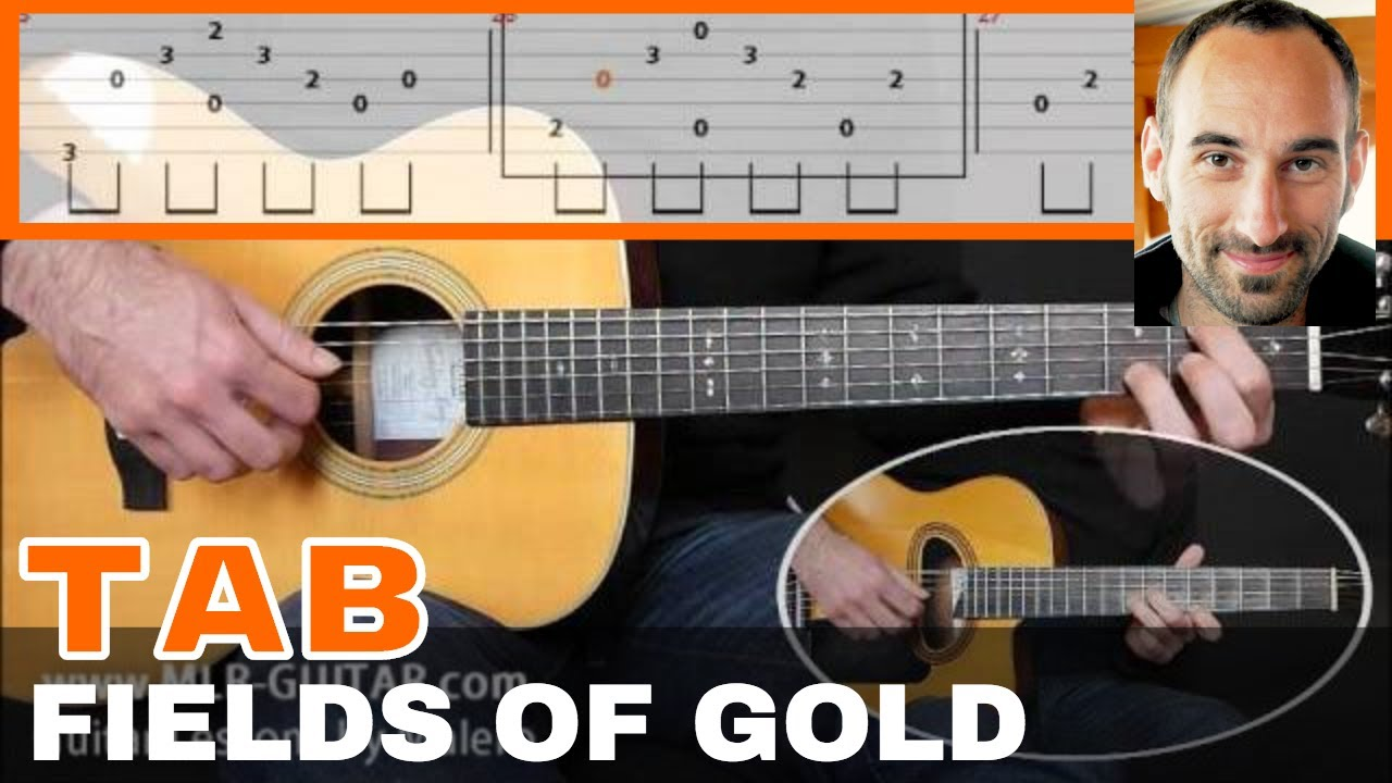 Fields Of Gold Guitar Tab Youtube