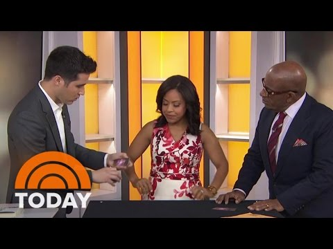 Magician David Kwong Blows TODAY Anchors' Minds With Card Trick | TODAY