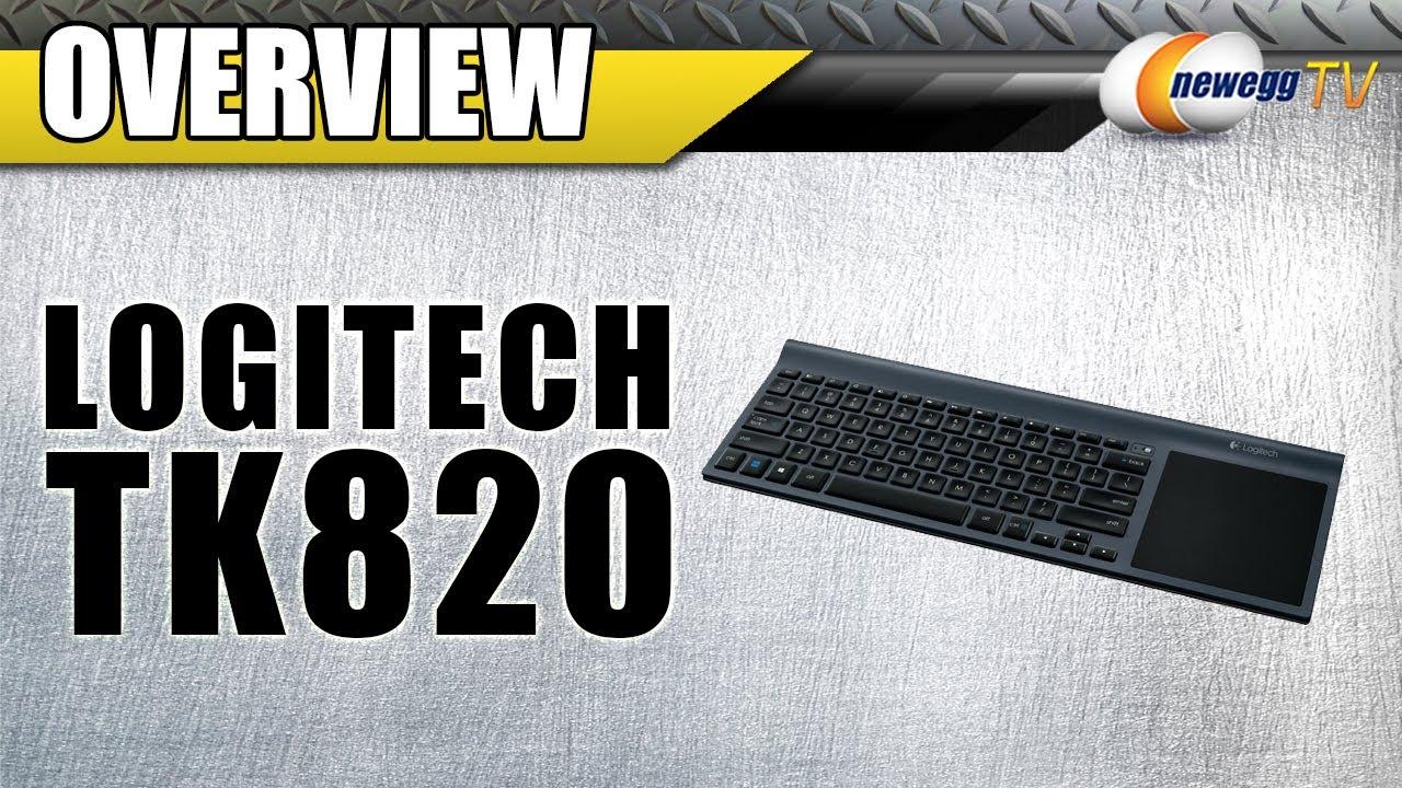 d435029eb7d Logitech TK820 Wireless All-in-One Keyboard Overview - Newegg TV - YouTube
