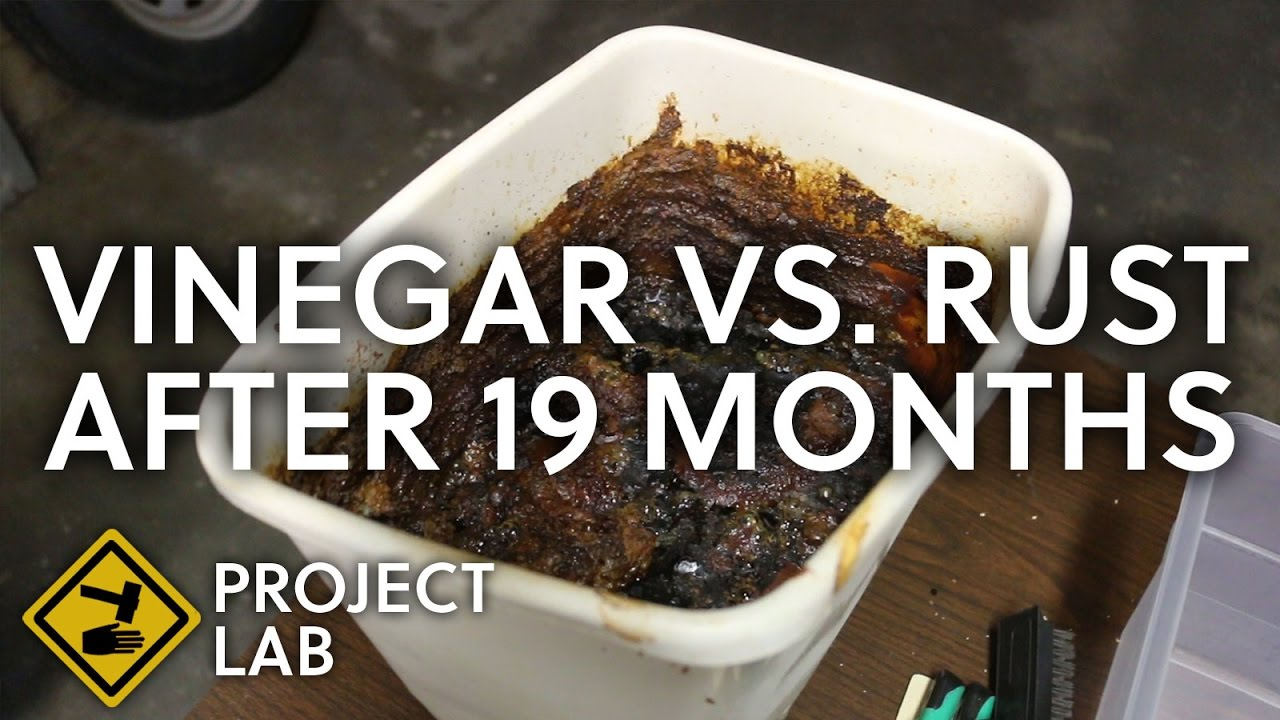 Vinegar rust removal, 19 months later - Project Lab - Medium