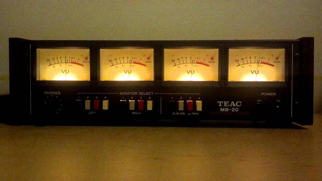 Analog Vu Meter : Analog vu meters youtube