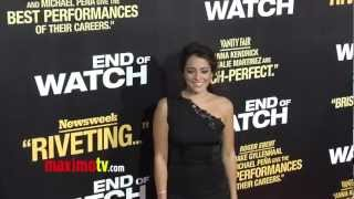 "Natalie Martinez GORGEOUS ""End of Watch"" Premiere Red Carpet ARRIVALS"