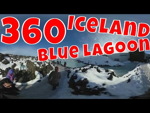360 VR Outside the Blue Lagoon in Iceland in the Selfie Zone!
