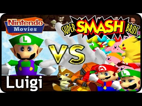 Super Smash Bros. - Adventure Luigi