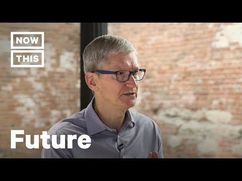 """Apple CEO Tim Cook Interview – """"The Future is Now"""" [FULL INTERVIEW] 