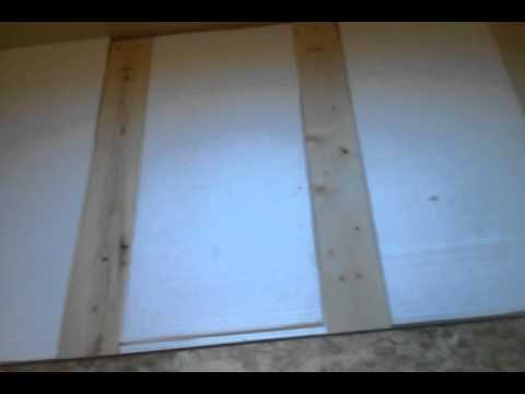 How to insulate a cold slab floor youtube for Cold floor insulation