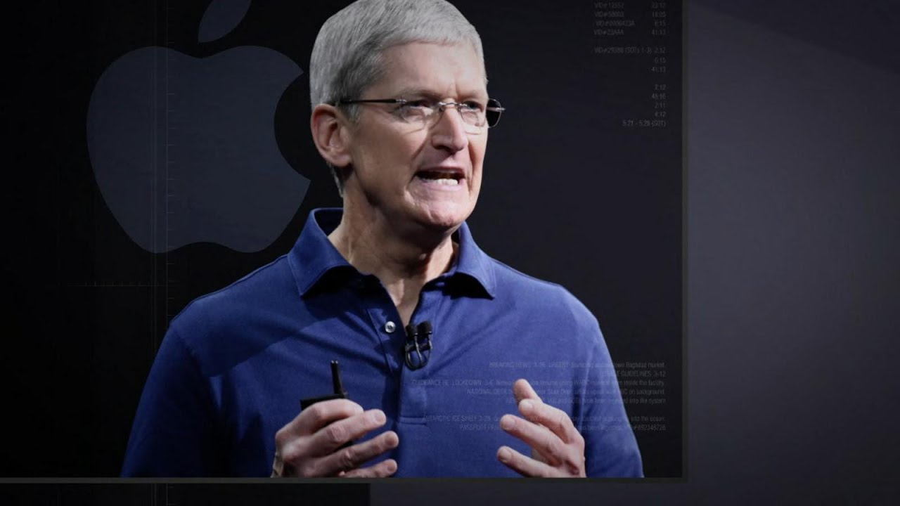 Apple CEO Tim Cook Stands Firm Against the FBI - YouTube