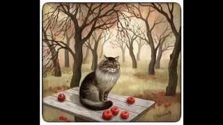 Музыка, живопись и коты...