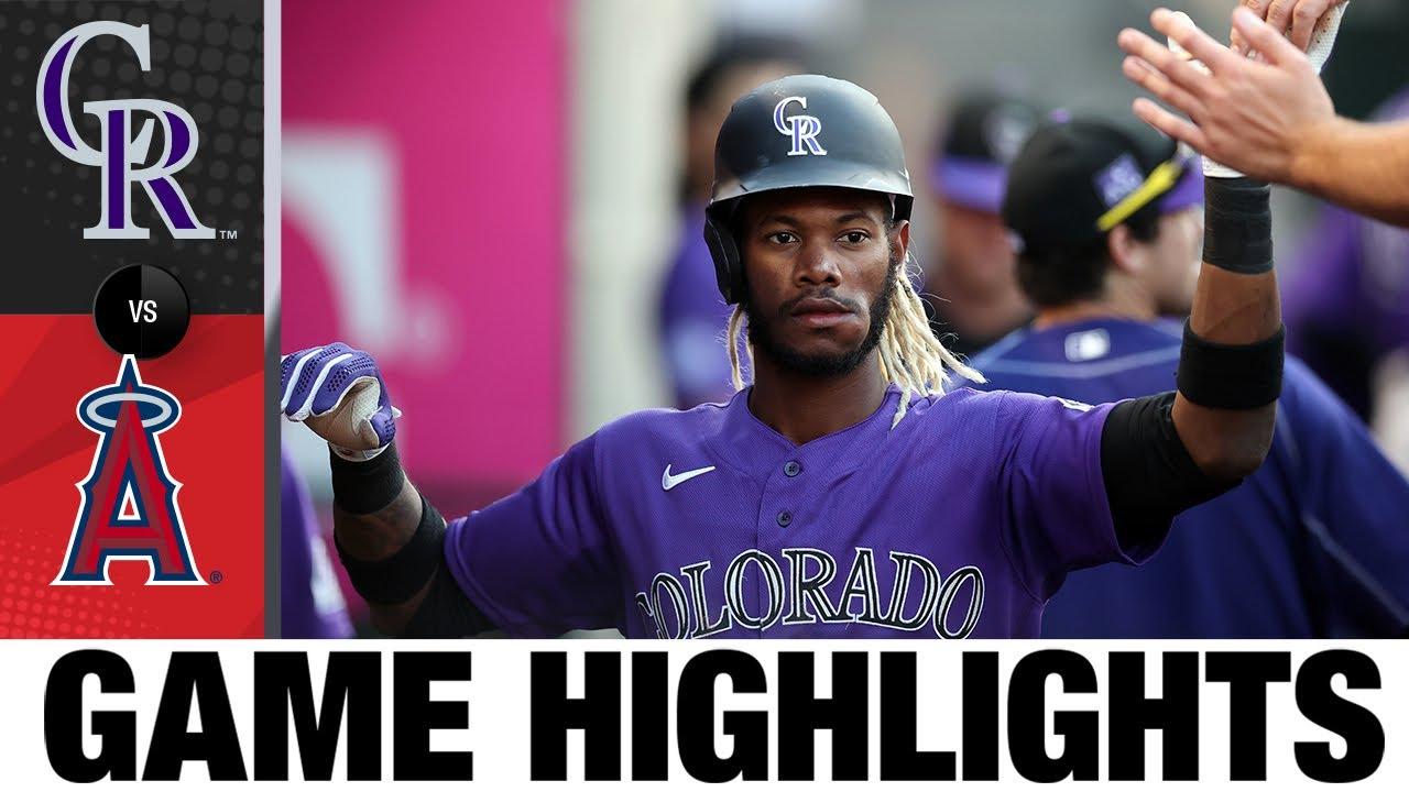 Rockies vs. Angels Game Highlights (7/27/21) | MLB Highlights