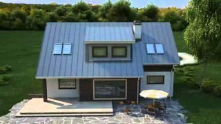 видео Проект комбинированного двухэтажного дома c гаражом общей площадью 310.90 м2