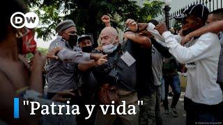 """Cuba: protestas piden """"el fin de la dictadura"""""""