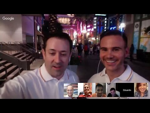 Hangout EN VIVO desde Las Vegas - Game Loot Network