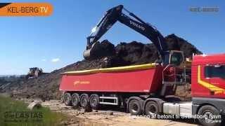 Læsning af betonit til Svenborg havn Langeland 10 06 15 2