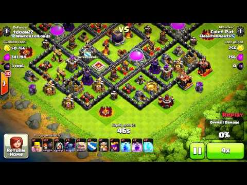 Clash of Clans - Quest to 4000 Trophies #3: Rise & Grind