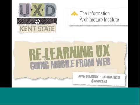 Re-learning UX Going Mobile From Web by Adam Polansky