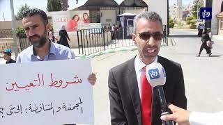 حَمَلة الشهادات العليا يعتصمون أمام جامعة مؤتة - (25-6-2019)