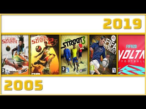 EVOLUTION Of FIFA Street / VOLTA Games (2005 - 2019)
