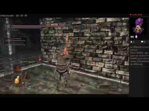 Dark Soul 2 Boss Fight Sir Alonne New Game +