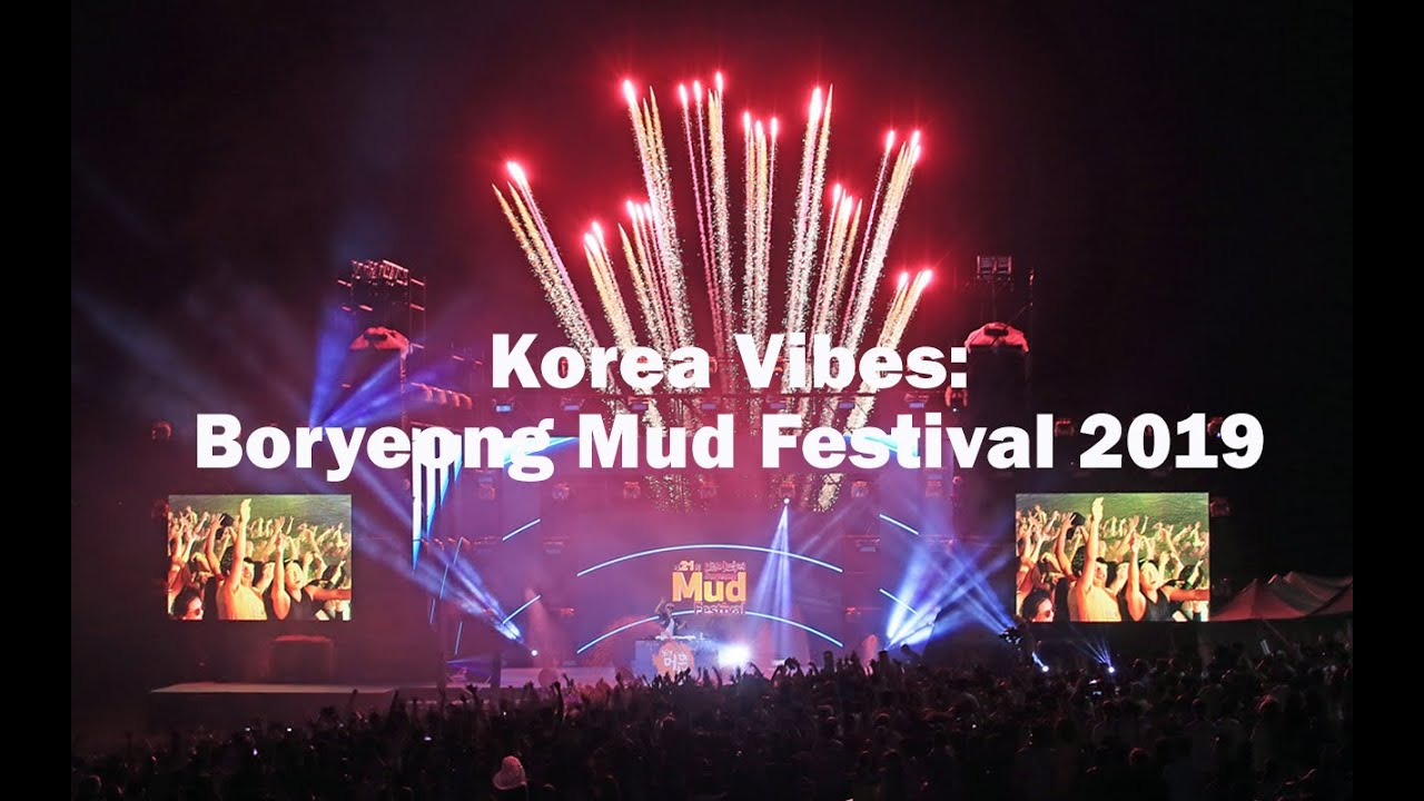 Korea No 1 Boryeong Mud Festival 보령머드축제