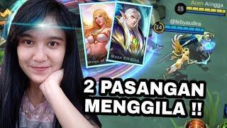 KETIKA RAFAELA DAN ESTES 1 TEAM !!! DARAHNYA GAK HABIS - HABIS !! - Mobile Legend Indonesia
