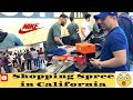 SHOPPING SPREE IN CALIFORNIA @ THE OUTLETS AT ORANGE......TRAVEL VLOG