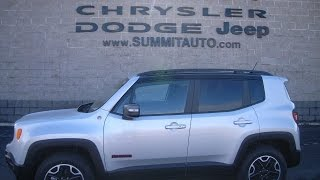 SOLD! 7J99A 2017 JEEP RENEGADE TRAILHAWK 4X4 MY SKY USED FOND DU LAC $24,999 www.SUMMITAUTO.com