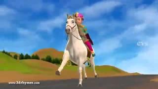 Chal Chal Gurram   3D Animation Telugu Nursery rhymes for children with lyrics 360p