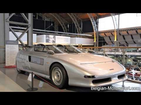 Italdesign Aztec - futuristic car by Giugiaro
