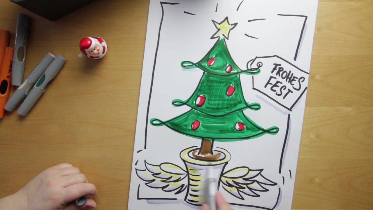 Picture A Christmas Flipchart.Flipchart Gestalten Weihnachtsbaum Auf Deinem Flipchart