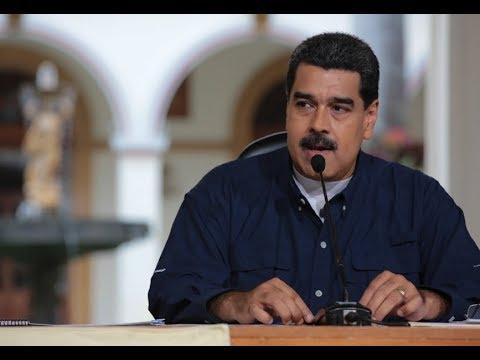 Presidente Nicolás Maduro sobre sanciones de Trump, 25 agosto 2017, transmisión completa