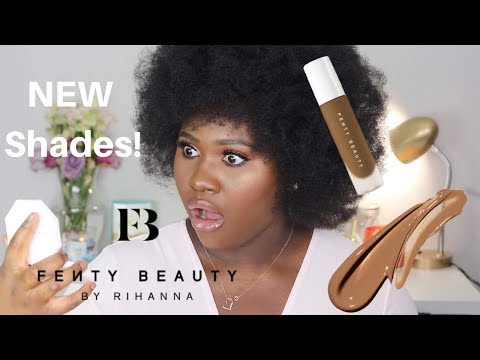 PRAISE GOD!!! FENTY FINALLY HAS MY SHADE! Pro Filt'r Foundation 445| RITA OKOLO