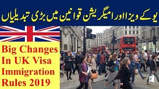 Changes in UK Immigration and Visa Rules 2019. Innovator Immigratio...