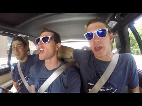 2016 USA Olympic Swim Team Carpool Karaoke THE PROCLAIMERS   Pokemon Theme   The Rembrandts