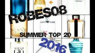 Top 20 Designer Summer Fragrance/Colognes 2016