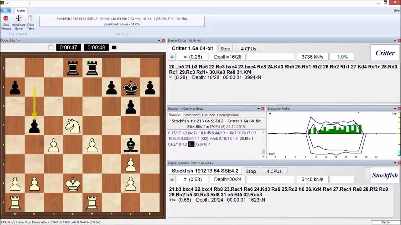 critter 1.6a chess engine