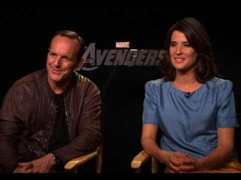 The Avengers - Interview with Clark Gregg and Cobie Smulders