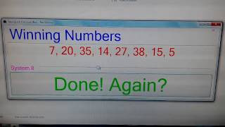 Toto number generator - 1 to 49