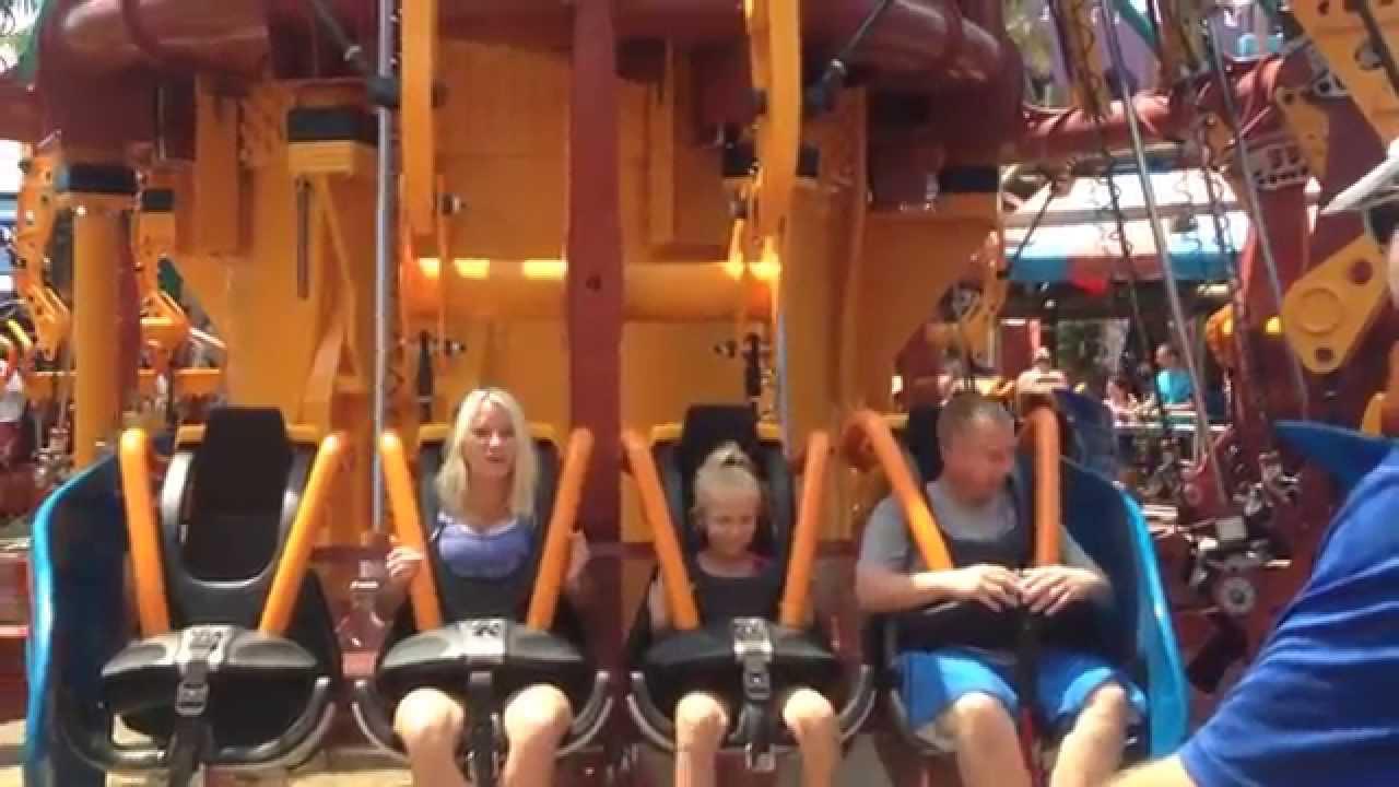 Busch Gardens Tampa-Falcon\'s Fury ~ScArY!! - YouTube