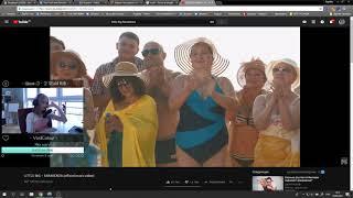 Ksyasha смотрит LITTLE BIG – FARADENZA (official music video) / РЕАКЦИЯ