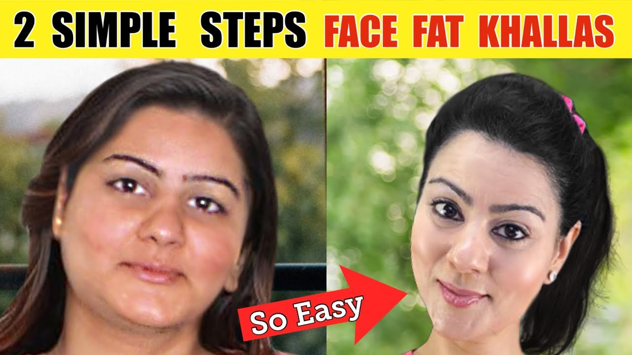 7 Days Reduce Face Fat Naturally  Challenge 🔥Lose Double Chin & Chubby Face - Get Slim Face FINALLY