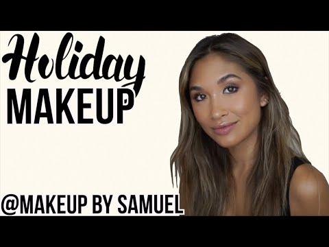 HOLIDAY MAKEUP by @MakeupBySamuel | Jocelyn Chew