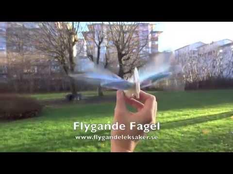 Flygandeleksaker.se - Radiostyrd fågel
