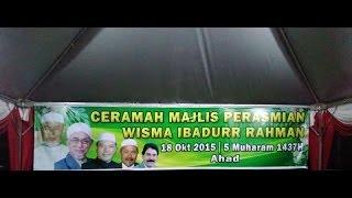 Majlis Perasmian Wisma Ibadurr Rahman
