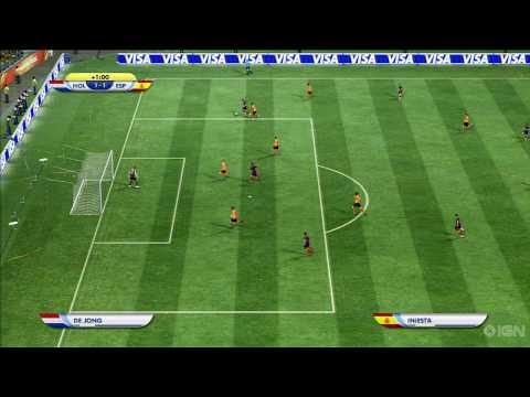 World Cup 2010 Finals - Netherlands vs Spain (Sim)